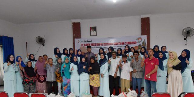 Dharma Wanita Bank Riau Kepri Jalankanm Program Indahnya Berbagi di Bulan Ramadhan
