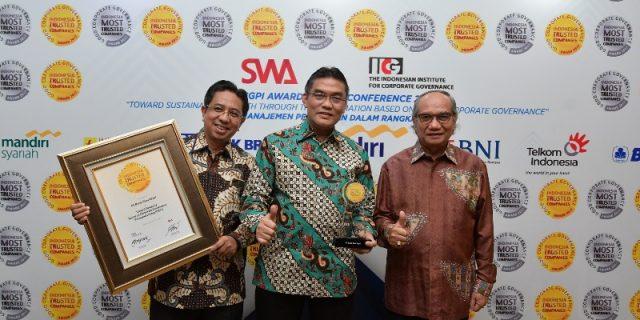 Bank Riau Kepri Kembali Raih The Trusted Companies Award Dalam Ajang Indonesia Most Trusted Companies Award 2017