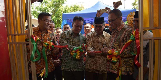 Kantor Jaringan Bank Riau Kepri Menjadi Layanan Perbankan Pertama Di Kecamatan Senayang Kabupaten Lingga