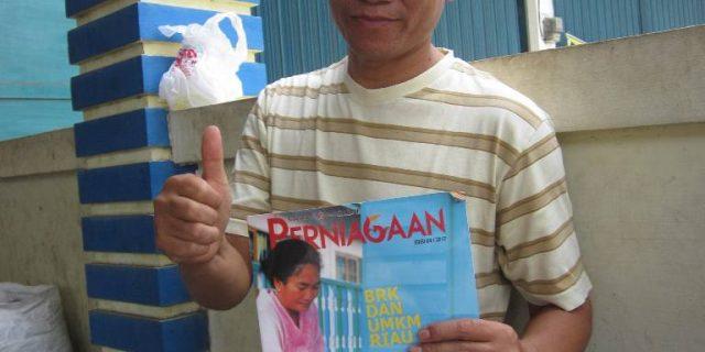 Disokong Dana dari Bank Riau Kepri, Pangkas Idola Terus Berkembang