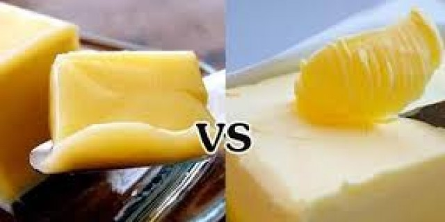 plan and design butter vs margarine