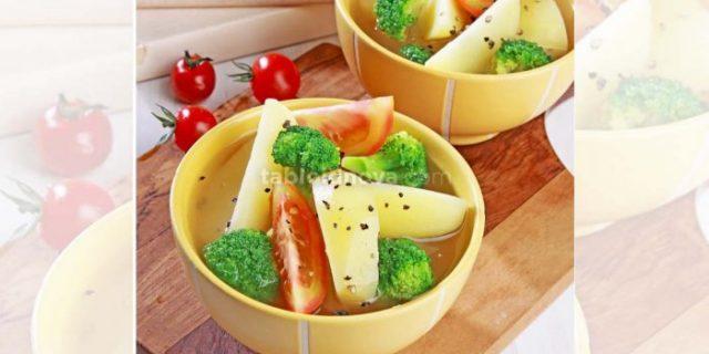 Hujan-hujan, Saatnya Nikmati Sup Kentang Tomat Brokoli