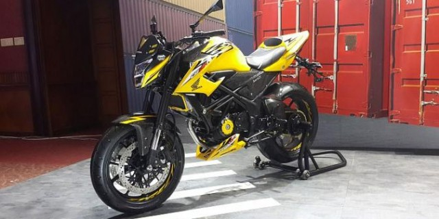 Kekar dan Galak ala All New Honda CB150R Urban Fighter