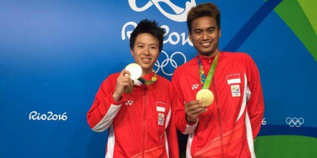 Bermain Luar Biasa, Tontowi/Liliyana Sumbang Emas Untuk Indonesia Di Olimpiade Rio