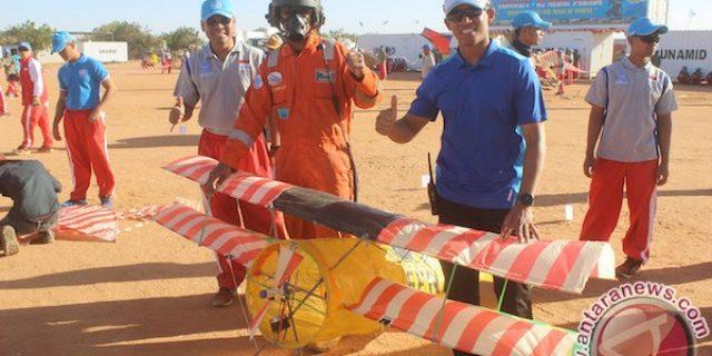 Darfur gelar festival layang-layang,Pasukan Indonesia