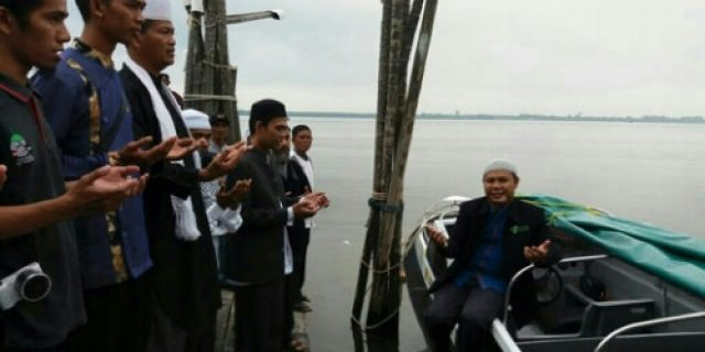 Yayasan Fitrah Madani Kepulauan Meranti Miliki Speedboat 200PK