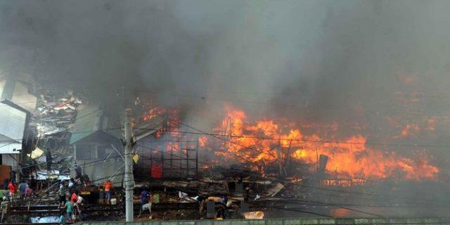 58 Rumah di Kukar ludes terbakar, 300 KK kehilangan tempat tinggal