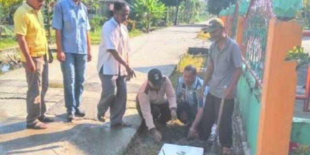 Perusahaan di Bangsal Aceh Dumai Tanam Pohon