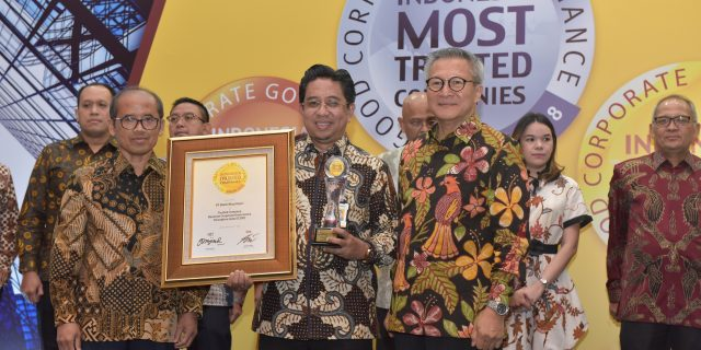 Bank Riau Kepri Raih Trusted Company Based on CGPI pada Ajang Indonesia Most Trusted Company Award 2018