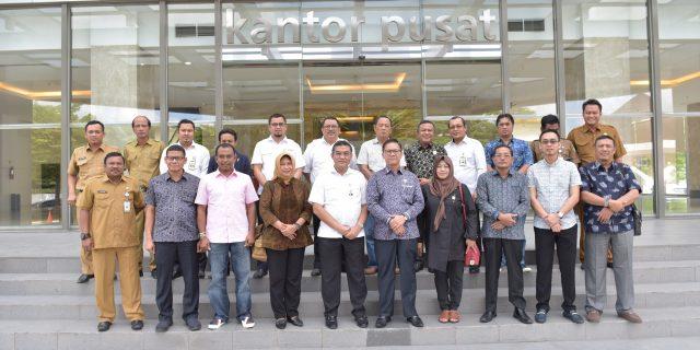 DPRD dan Pemkab Bengkalis Kunjungi Bank Riau Kepri Untuk Rencana Penambahan Modal