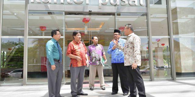 Agar Selalu GCG Bank Riau Kepri Berkoordinasi Dengan KPK