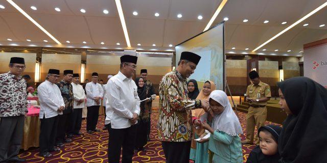 Bank Riau Kepri Santuni 1.379 Anak Yatim Pada Bulan Ramadhan 1439H
