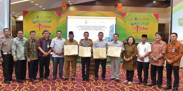 E-Samsat Resmi Diluncurkan, Tidak Ada Alasan Lagi Untuk Tak Bayar Pajak Kendaraan di Riau