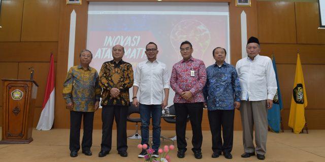 Dirut Bank Riau Kepri Jadi Narasumber dalam Seminar Nasional Pascasarjana Universitas Pancasila