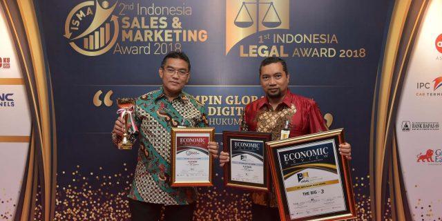 Bank Riau Kepri Raih Peringkat Pertama Pada Ajang Indonesia Sales Marketing Award & Indonesia Legal Award 2018