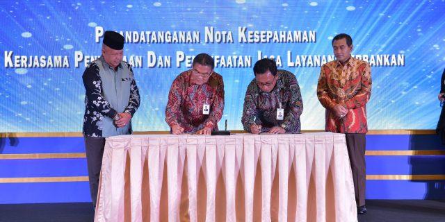 Bank Riau Kepri dan BRI Jalin Kerjasama Layanan Perbankan