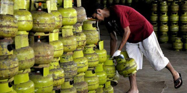 Disperindag Tanjungpinang Ancam Tutup Pangkalan Gas Melon yang Nakal