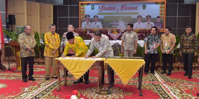 Pemkab Inhil Terima CSR Dari Bank Riau Kepri