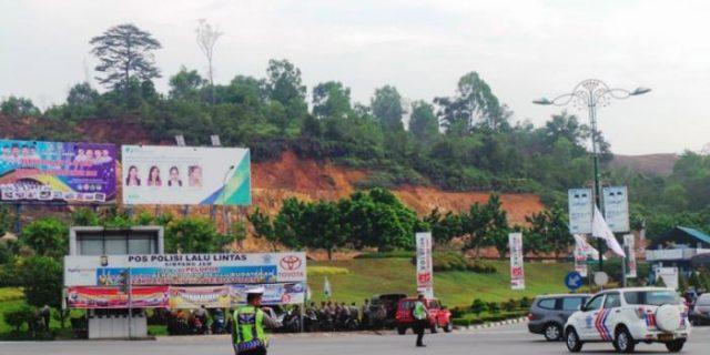 Lagi, Kabel Lampumerah Simpang Jam Barelang Dicuri