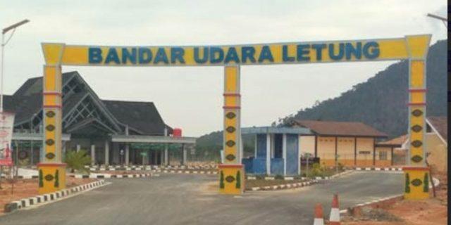 Bandara Letung Anambas Resmi Beroperasi