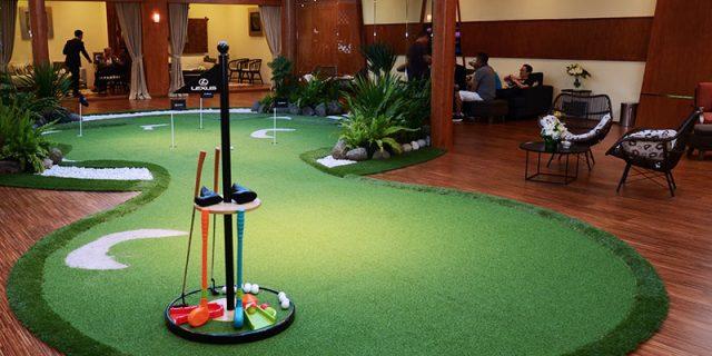 GIIAS 2016: Bisa Main Golf Di Booth Lexus
