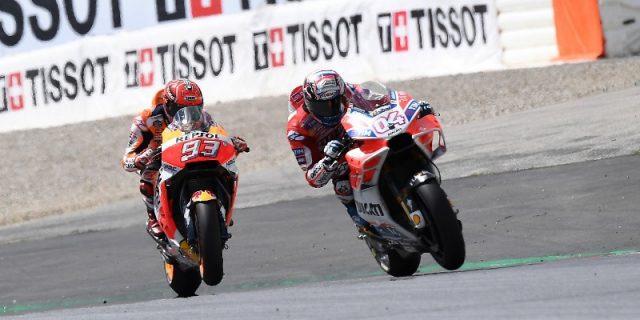 Juara di MotoGP Amerika, Poin Marquez dan Dovizioso Beda Satu Angka
