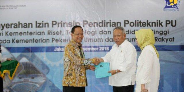 Politeknik PU Di Semarang Jawa Tengah Dibuka Pada Tahun 2019