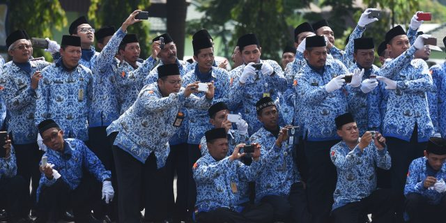 523 Pejabat Pemprov Riau Pensiun Tahun Ini