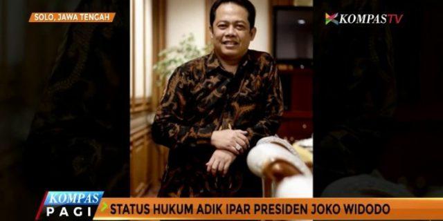 Adik Ipar Presiden Jokowi Akan Jadi Saksi Kasus Suap Pajak