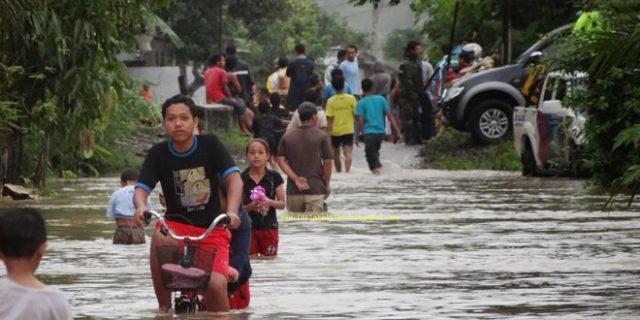 Banjir Blitar yang merendam 710 rumah