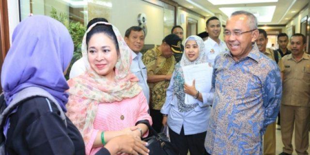 Besok Unit Pemukiman Transmigrasi Tanjung Tiram Desa Tanjung Melayu Kuindra Inhil Diresmikan