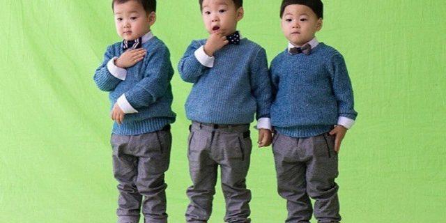 Si Kecil Kembar Tiga Ini Menjadi Aktor Cilik? Wah Lucunya