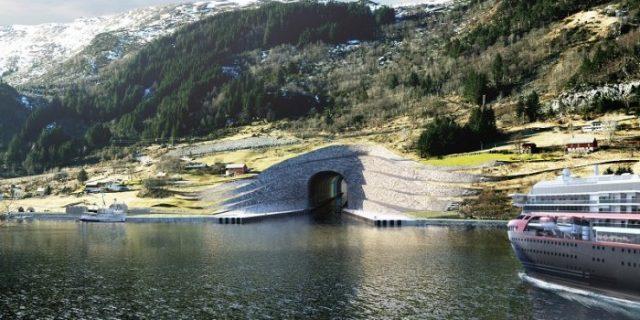 Negara Ini Bakal Bangun Terowongan Kapal di Perut Gunung Sepanjang 1,7 Km