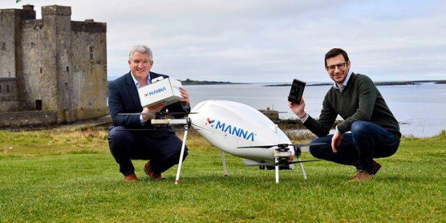 Samsung Kirim Smartphone ke Pembeli Pakai Drone