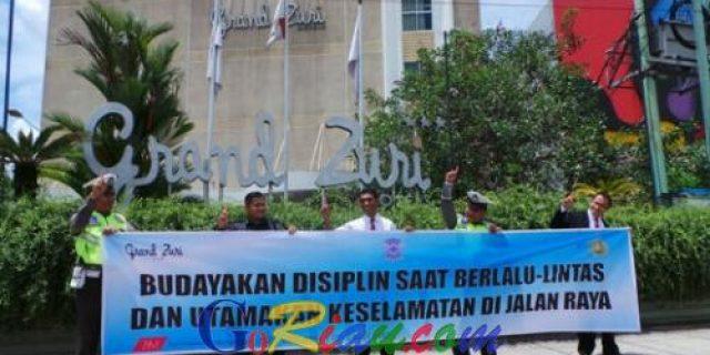 Polsek Mandau Gandeng Pihak Swasta Berpartisipasi dan Sosialisasikan Tertib Berlalu Lintas
