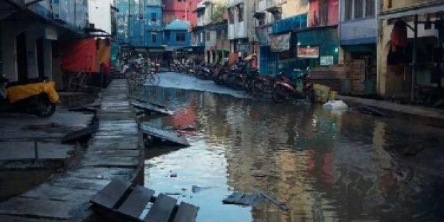 Pasar Jongkok Inhil Mendadak Sepi