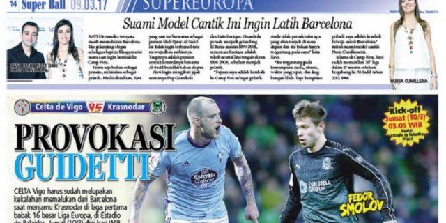 Celta Vigo Harus Cetak Gol yang Banyak