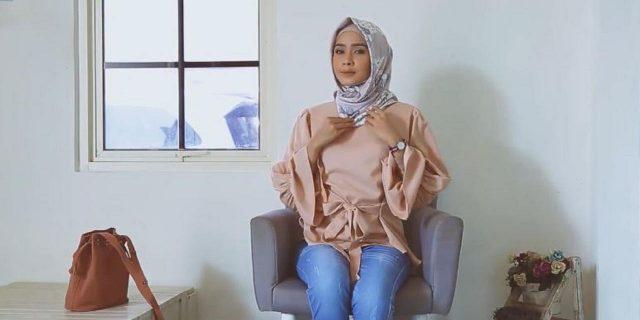 Hijab Tutorial untuk Hangout agar Tampil Cantik