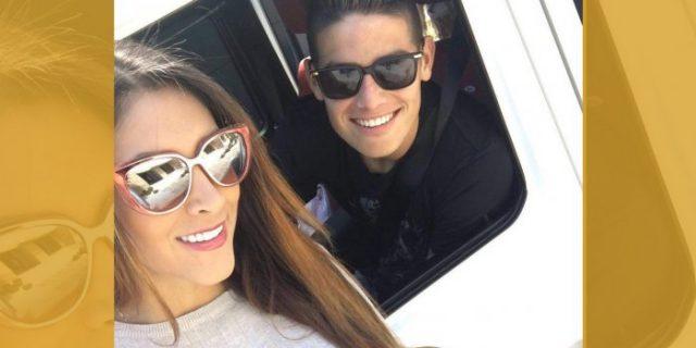 Berharap Suaminya James Rodriguez Tetap Bertahan di El Real