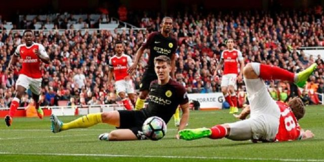 Bermain Imbang 2-2 Saat Jamu Manchester City di Emirates Stadium