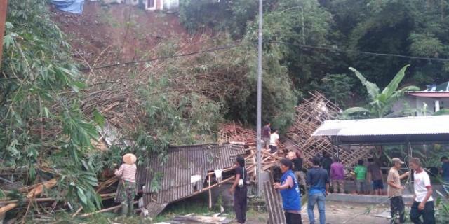 Dalam Sehari,Terdapat 10 Lokasi di Kota Bogor Longsor