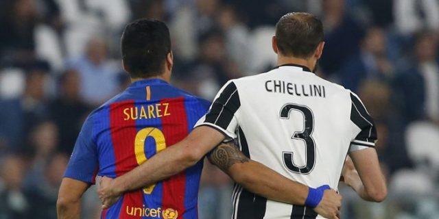 Giorgio Chiellini Sebut Tiga Pemain El Barca Ini Seperti Hiu