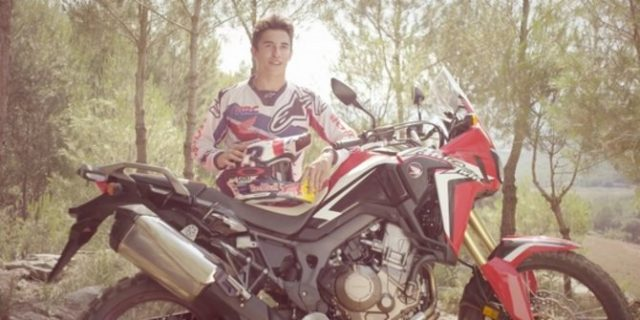 Ketangguhan Honda Africa Twin Kala Ditunggangi Marc Marquez