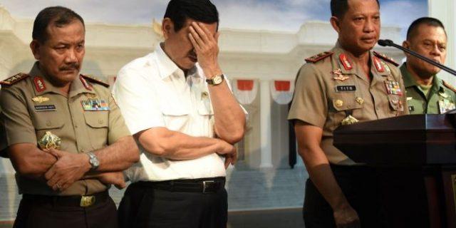 Menteri Luhut dan Kapolda Metro Temui Ketua MUI Maruf Amin, Apa yang Dibicarakan?