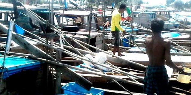 Pendapatan Nelayan Lingga Turun Akibat Kabut Asap