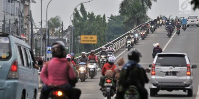 Polisi Alihkan Rute Lalu Lintas,Ada Perbaikan Jembatan Layang