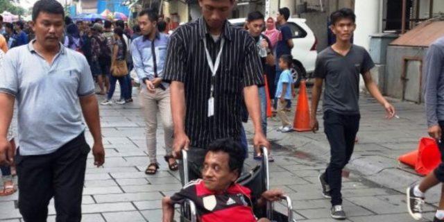 Pengemis Disabilitas di Kota Tua