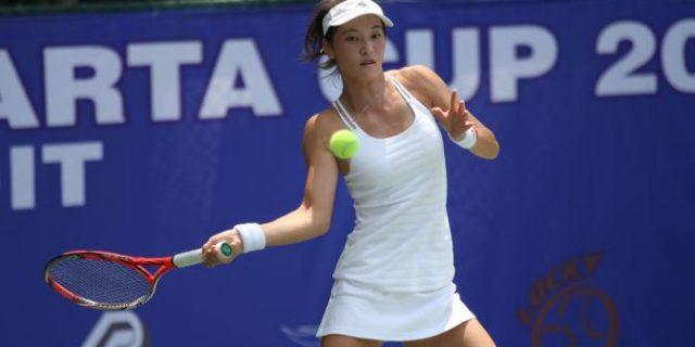 Puluhan Petenis Ikuti Turnamen ITF Womens Cirkuit