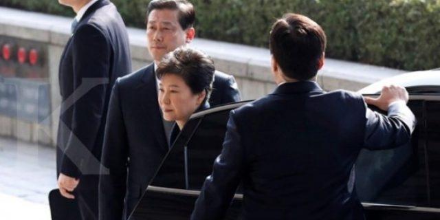 Presiden Terguling Korsel Park Geun-Hye Ditahan,Terjerat Kasus Korupsi