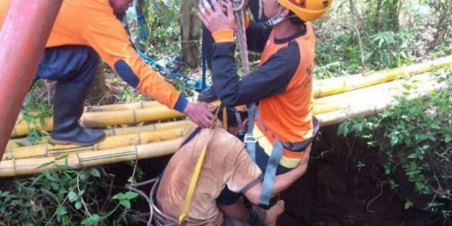 Korban Perampokan Ini Ditemukan Selamat,Sudah Lima Hari di Dalam Sumur